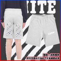 ★Luxury street★OFF-WHITE★AIRPORT TAPE SWEAT SHORT
