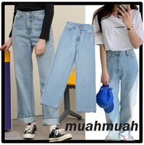 ★送料・関税込★muahmuah★Wide Denim Pants★