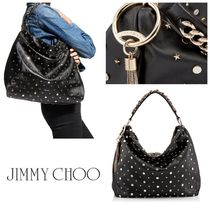 VIP SALE!!【Jimmy Choo】CALLIE/L♪ミックススタッズ♪BLACK♪