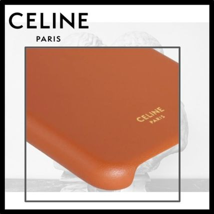 CELINE スマホケース・テックアクセサリー CELINE(セリーヌ)☆IPHONE XS MAX CASE WITH LEATHER LACE(3)