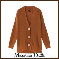 MassimoDutti♪LONG BUTTON-UP CARDIGAN
