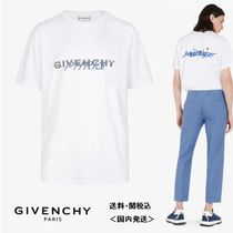 【GIVENCHY】GIVENCHY PARIS カリグラフィックプリント Tシャツ