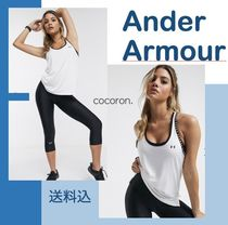 UNDER ARMOUR (アンダーアーマー ) トップスその他 Under Armour Training knockout vest in white