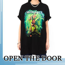OPEN THE DOOR★OVERFIT METALICA 1/2 T-SHIRT