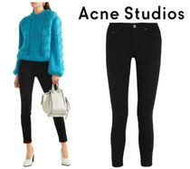 Acne Studios☆Skin 5 cropped mid-rise skinny jeans