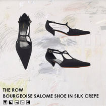 【SS20新作】THE ROW Bourgeoise Salome シルククレープシューズ