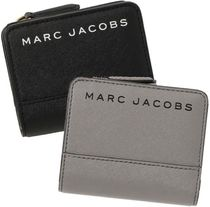 SALE! Marc Jacobs ロゴ 2つ折 ミニ 財布 メンズ人気カラー♪