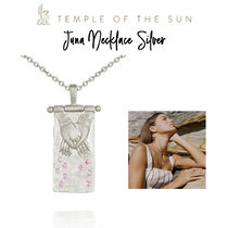 【TEMPLE OF THE SUN】Juna Necklace Silver ネックレスシルバー
