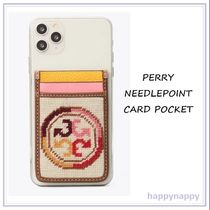 【Tory Burch】可愛い★PERRY NEEDLEPOINT カードポケット