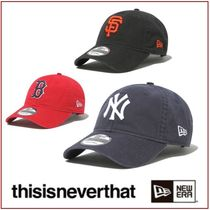 thisisneverthat(ディスイズネバーザット) ハット [thisisneverthat X NEW ERA] 920UNST TNT Cap★コラボ★
