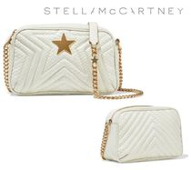STELLA McCARTNEY☆Star quilted faux ヘビ柄 leather bag