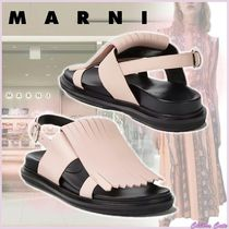 【20SS NEW】MARNI_women/FUSSBETT IN VITELLO CON FRANGIA ROSA