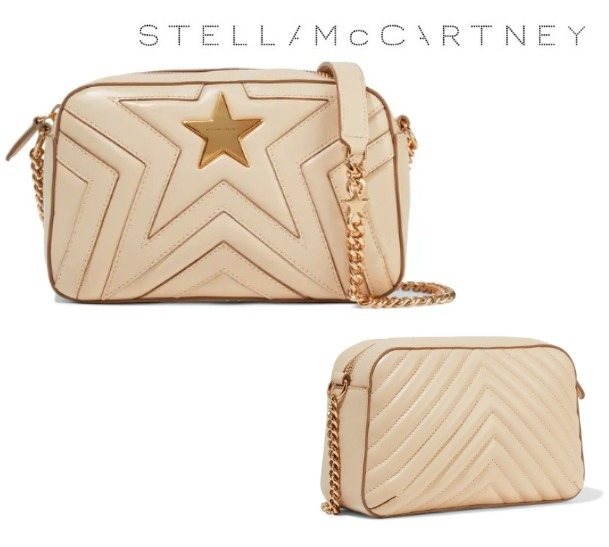 STELLA McCARTNEY☆Quilted faux leather shoulder bag (Stella McCartney/ショルダーバッグ・ポシェット) 54734898