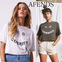 ◆NEW◆AFENDS◆ No worries Tシャツ 2色