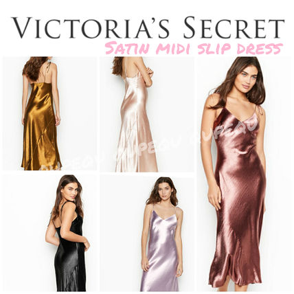 Victoria's Secret ルームウェア・パジャマ 国内発送*SEXY and COMFY★Midi スリップ