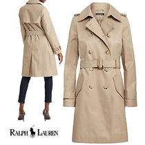 特別価格!Ralph Lauren Double Cotton-Blend Trench Coat