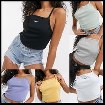 Nike high neck vest crop top