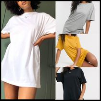 Nike mini swoosh oversized t-shirt dress
