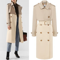 BB331 TWO-TONE RECONSTRUCTED TRENCH COAT