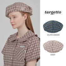 TARGETTO正規品★20SS★TGTニュースボーイキャップ