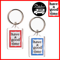 have a good time Red & Blue Frame Key Chain MH1681 追跡付