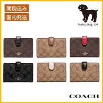 【COACH】Medium Corner Zip Wallet 折財布◆国内発送◆