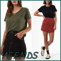 ◆AFENDS◆ツイルショートスカート