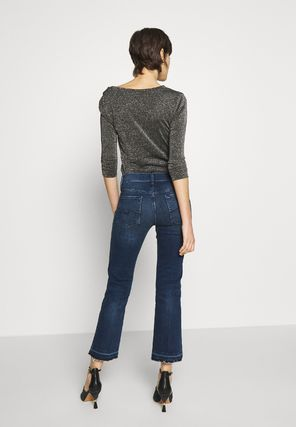 7 For All Mankind デニム・ジーパン 送料込 関税返金 7 for all mankind CROPPED UNROLLED ジーンズ(3)