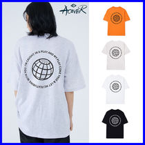 ACOVER(オコボ) Tシャツ・カットソー ◆ACOVER◆ ROUND BACK T-SHIRT (全3色) 男女兼用 人気