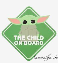 【Disney】 Star Wars☆The Child On Boardサイン♪