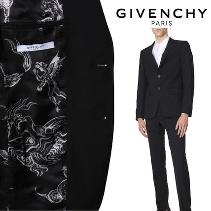 GIVENCHY スーツ VIP価格【GIVENCHY】SLIM FIT WOOL SUIT スーツ 関税込