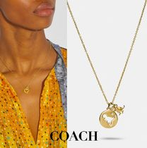 【COACH】☆完売間近☆ Rexy Cutout Necklace ネックレス