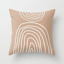 日本未入荷・送料無料 Abstract Rainbow, Throw Pillow