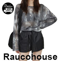 Raucohouse LOOSE TIE-DYE MESH TOP JH143/追跡付