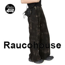 Raucohouse TIE-DYE LINEN WASHING PANTS JH148/追跡付