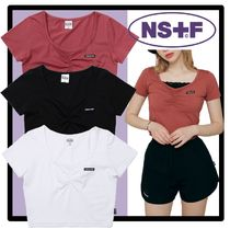 NASTYKICK(ネスティキック) Tシャツ・カットソー ★関税込★NASTYFANCY★FANCY SQUARE NECK SHIRRING CROP TEE★