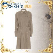 ★送料無料★セール中★Stretch-wool shirt dress