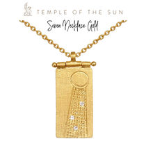 【TEMPLE OF THE SUN】Seren Necklace Gold ゴールドネックレス