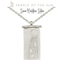 【TEMPLE OF THE SUN】Seren Necklace Silverネックレスシルバー