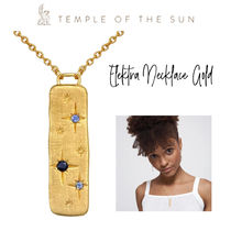 【TEMPLE OF THE SUN】Elektra Necklace ゴールドネックレス