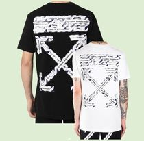 OFF WHITE  Airport tape アロー Tシャツ