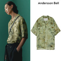 ★ANDERSSON BELL★FOREST WHISPER OPEN COLLAR SHIRT シャツ