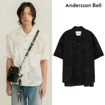 ★ANDERSSON BELL★ANDREA EMBROIDERY OPEN COLLAR SHIRT シャツ