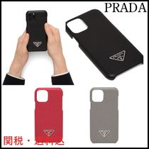 NEW!★PRADA★プラダ iPhone X、XS用Saffianoレザーケース