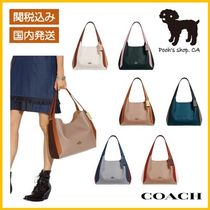 【COACH】Hadley Hobo In Colorblock ハンドバッグ◆国内発送◆