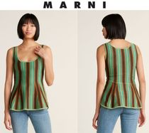 [関税・送料込] MARNI☆Kiwi Striped Tank