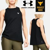 UNDER ARMOUR (アンダーアーマー ) タンクトップ ★UNDER ARMOUR×Project Rock★Charged Cotton タンクトップ