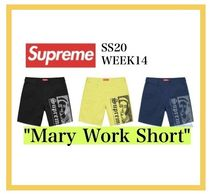 Supreme Mary Work Short SS20 Week 14