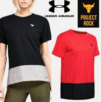 ★UNDER ARMOUR×Project Rock★Charged Cotton 半袖Tシャツ
