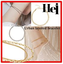 ☆韓国の人気☆ Hei ☆ urban layered bracelet☆